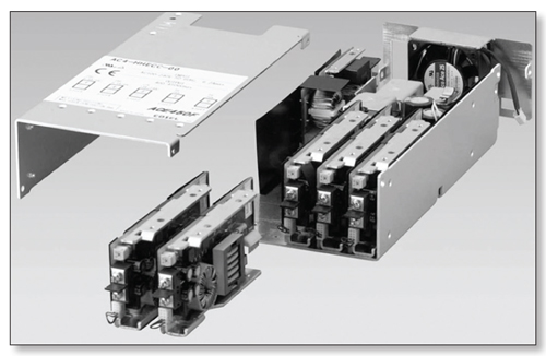 Cooling Fans For Electronic Equipment : Relationship between supply flow rate of small cooling