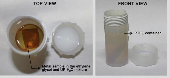 Figure 1. Long-term ion leaching experimental setup.